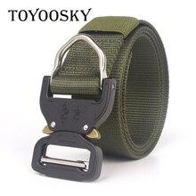 Military Tactical Moisture-Wicking Canvas Men Belt Outdoor Canvas Belt for Men Women Children Belt TOYOOSKY цена