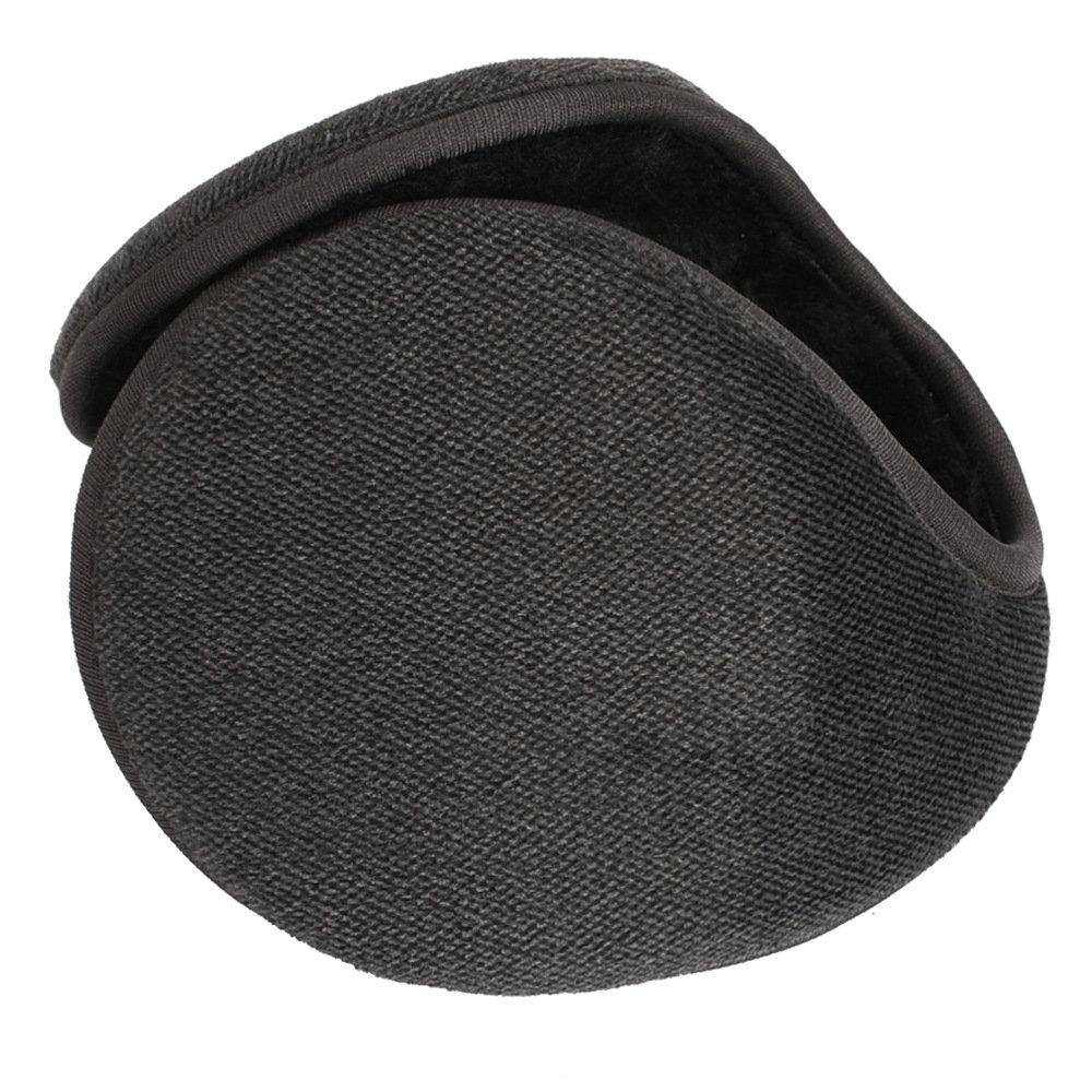 Elegant Adult Men Women Winter Outdoor Keep Warm Fleece Earmuff New Vintage Plush Cloth Wrap Cover Ear Muffs Band Warmer Earflap