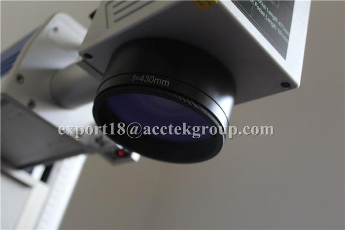 Laserové značkovací zařízení s kovovými vlákny Laserové - Zařízení na obrábění dřeva - Fotografie 2