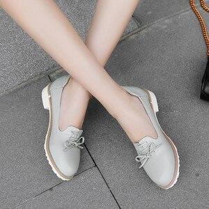 Image 2 - Grande taille 11 12 dames talons hauts femmes chaussures femme pompes simple chaussure décontracté chaussures peu profonde à tête ronde femme