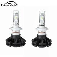 AutoLeader 2Pcs H7 100W 12000LM 6500K Driving Car LED Headlight Bulb Fog Light Beam Lamp Waterproof