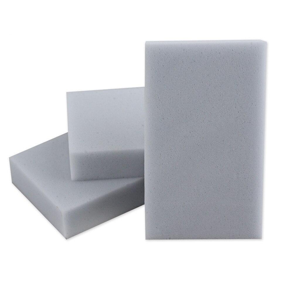100pcs High Quality Grey Magic Melamine Sponge Dish Brush Cleaner Cleaning Bathroom Kitchen Office Clean Accessories 100*60*20mm|magic melamine sponge|melamine sponge|sponge dish - title=