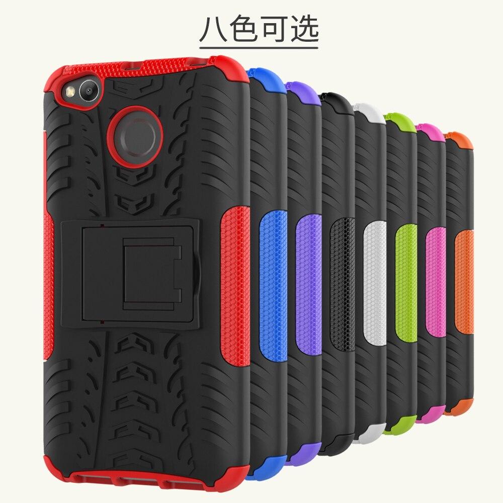 Hybrid TPU Armor Silikongummi hårt fodral för Xiaomi Redmi 4X hårt - Reservdelar och tillbehör för mobiltelefoner - Foto 6