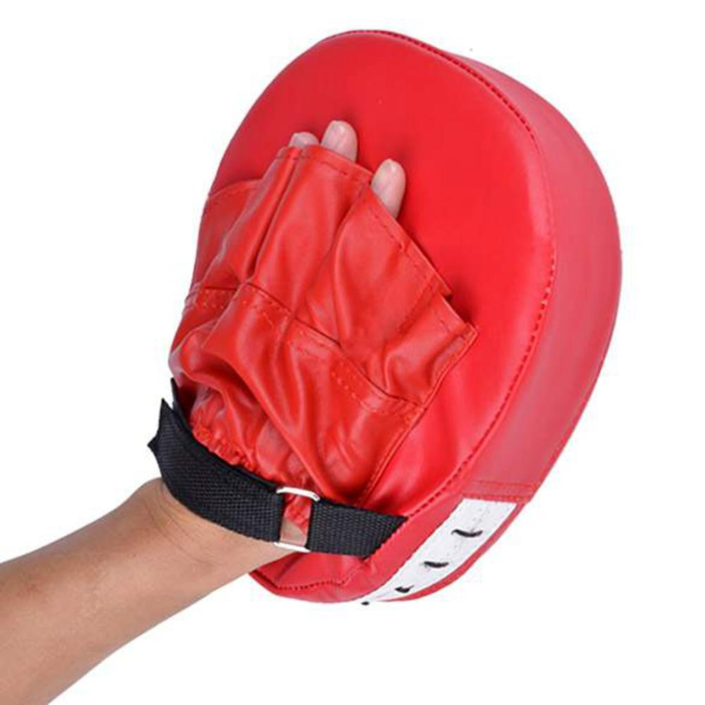 Mens leather gloves at target - Hot Boxing Training Mitt Target Focusing Punch Pad Glove Mma Karate Muay Thai Kick Sanda Pads