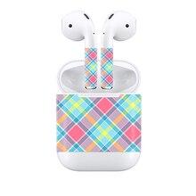 Transporte da gota livre da pele Colorida para Apple Airpods pele adesivo decalque capa # TN-APOD-0039