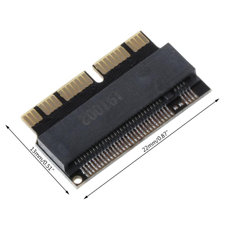NVMe PCI Express, PCIE 2013 de 2014 a 2015 M.2 NGFF SSD Tarjeta de adaptador para Macbook Air Pro A1398 A1502 A1465 a1466