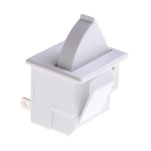 2020 beyaz yedek buzdolabı parçası mutfak AC 5A 250V buzdolabı parçaları buzdolabı kapı lamba ışığı anahtarı