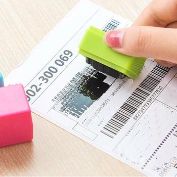 Одежда высшего качества 1 шт. охранять ваш ID Ролик Штамп selfinking Stamp грязный код безопасности office 705 леверт челнока