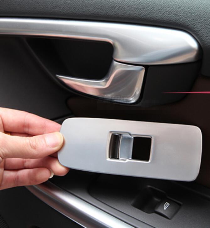 2020 Volvo S60 Sedan Interior Facelift: Chrome Passenger Door Window Lift Button Cover Trim For