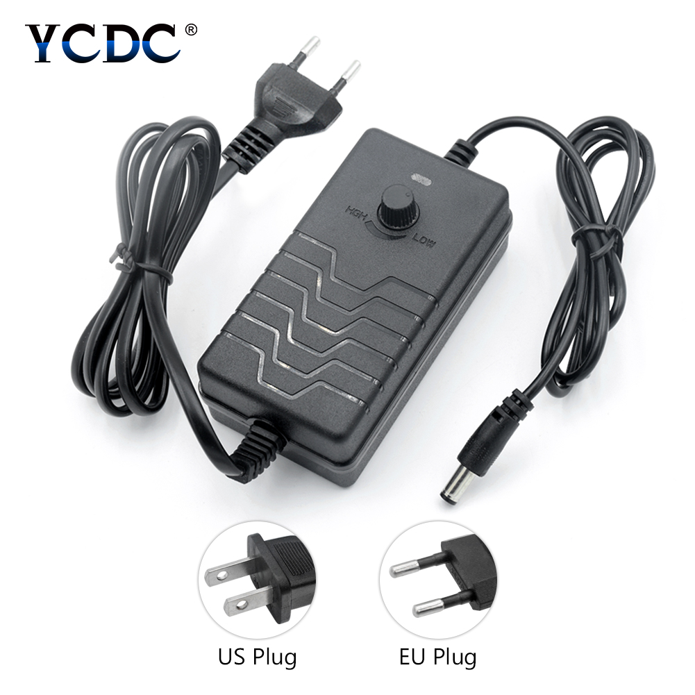 New Style 1-24V 24-36V 2A 28W 72W AC/DC Adapter Switching Power Supply Regulated Adjustable Power Adapter Display EU US PlugNew Style 1-24V 24-36V 2A 28W 72W AC/DC Adapter Switching Power Supply Regulated Adjustable Power Adapter Display EU US Plug