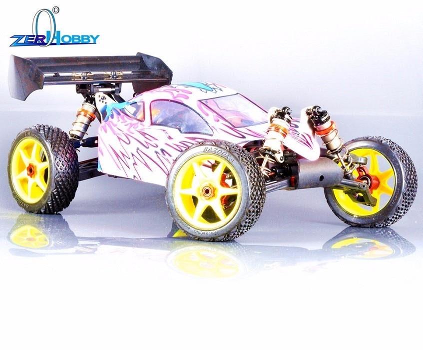 HSP RC AUTO 1/8 ELEKTRISCHE BORSTELLOZE GEAVANCEERDE BUGGY CAR KIT OF - Radiografisch bestuurbaar speelgoed