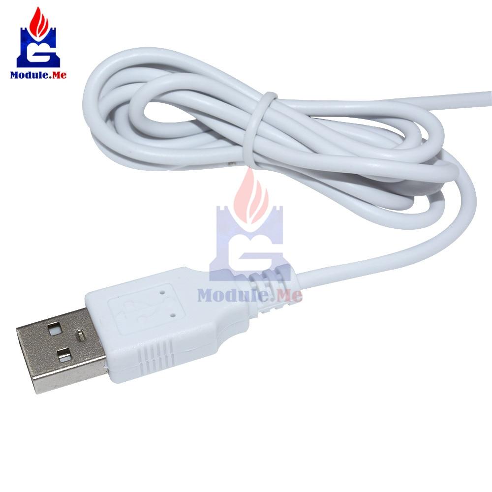 6x20 CM USB Heating Element Film Heater For Warm Feet Hand Warmer Electric Belts