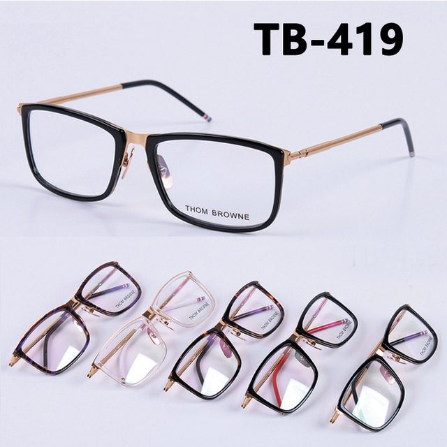 9c049da92c16 Thom browne fashion eye glasses men myopia reading eyeglasses frames TB419