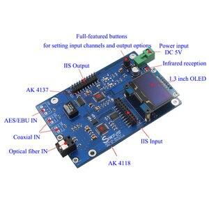 Image 3 - AK4137 DAC SRC Audio 384K 32Bit DSD256 DSD IIS conversión para amplificador hifi