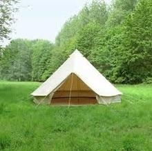 Хлопковое полотно палатки Белл Палатка семейная палатка 4 м/5 м диаметр