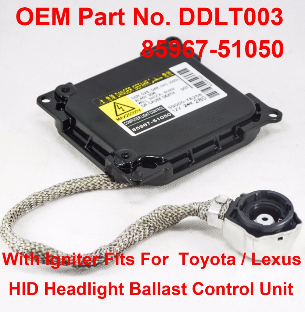 35W D2R D2S D4R D4S OEM HID Xenon Headlight Ballast W Igniter Computer Control Unit DDLT003