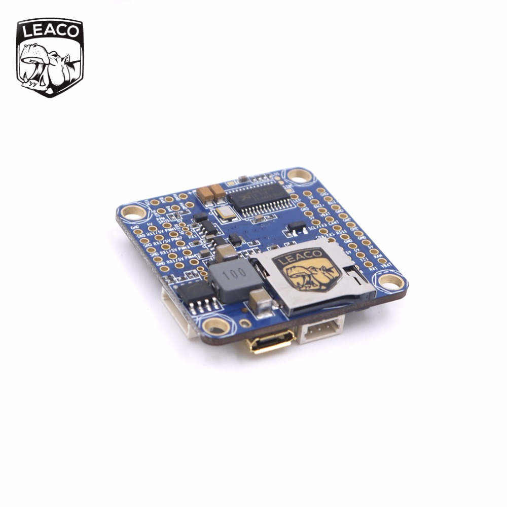 LEACO OMNIBUS AIO F4 V5 Flight Control for FPV based on F405 MCU for quadcopter кабели межблочные аудио wire world silver eclipse 7 female tonearm din plug to 2rca males 1m