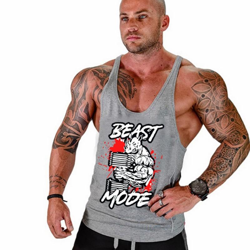 71f1e435fb0f94 Golds gyms clothing Brand singlet canotte bodybuilding stringer tank top  men fitness T shirt gyms muscle sleeveless vest Tanktop