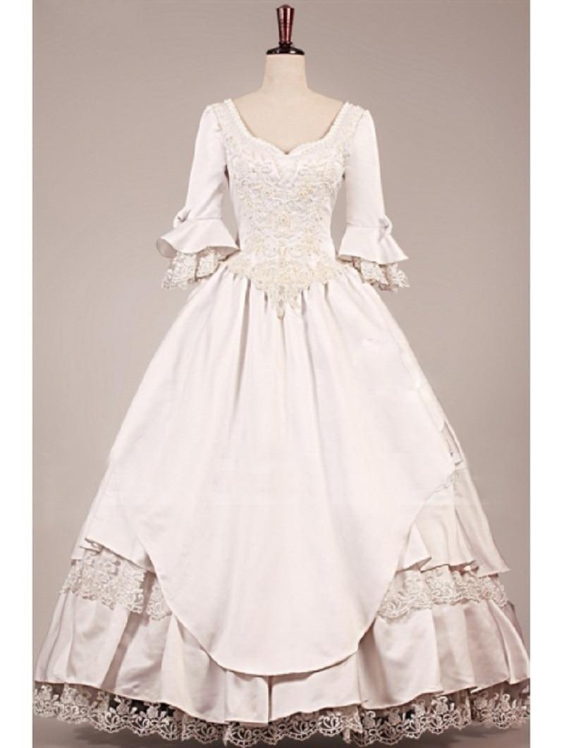 Popular Gothic Wedding Gowns Buy Cheap Gothic Wedding