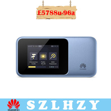 Unlocked Huawei E5788 (E5788u-96a) 4G LTE cat6 pocket wifi router mobile hotspot wireless router 4G modem ith 2.4 inch screen цена и фото