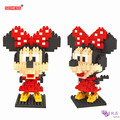 SC: Goofy Mickey Minnie 1003 Diamante Micro Nano Building Blocks Figura de Acción boy & girl regalos