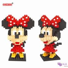 SC: Mickey Goofy – Minnie 1003  Diamond Micro Nano Building Blocks Action Figure boy & girl gifts