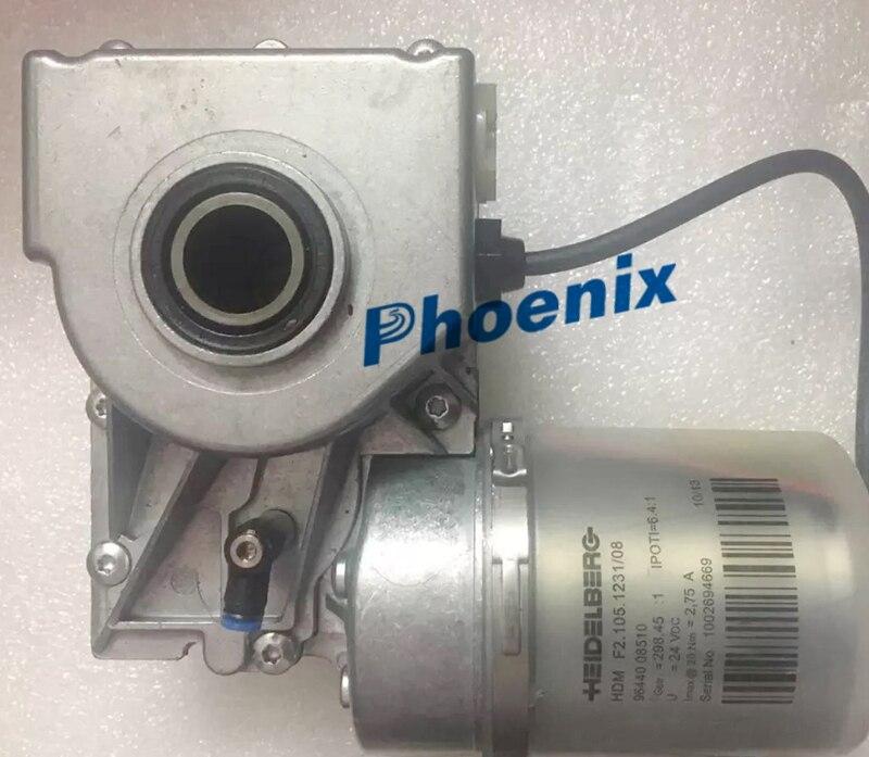 Haben Sie Einen Fragenden Verstand Phoenix F2.105.1231 Original Und Zweiter Hand Gebrauchte Heidelberg Motor 24 V Den Speichel Auffrischen Und Bereichern