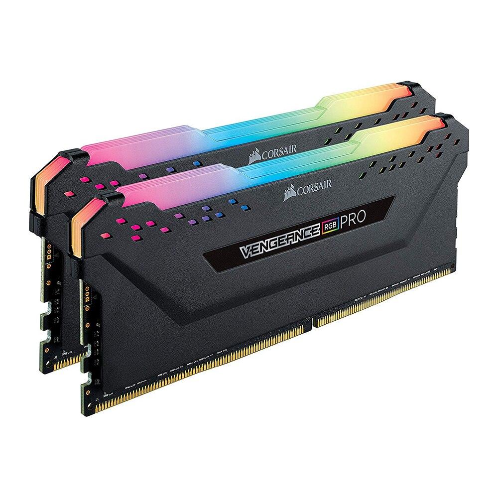 CORSAIR DDR4 RAM 8G 16G 32GB 64GB DDR4 RGB PRO Memory PC4 3200MHz Desktop DIMM  PC Memory RAM