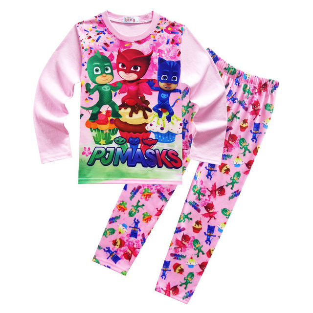 chaude garons ensembles masques ninjago vtements set enfants pyjamas pantalon manches longues cartoon movie print - Vetement Ninjago