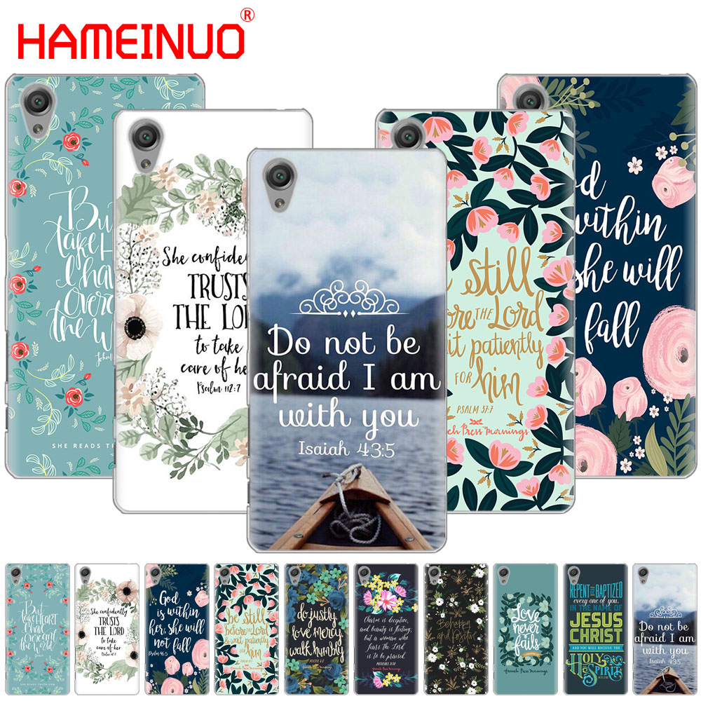 Phone Bags & Cases Hameinuo Bible Verse Philippians Cover Phone Case For Sony Xperia C6 Xa1 Xa2 Xa Ultra X Xp L1 L2 X Xz1 Compact Xr/xz Premium Providing Amenities For The People; Making Life Easier For The Population Cellphones & Telecommunications