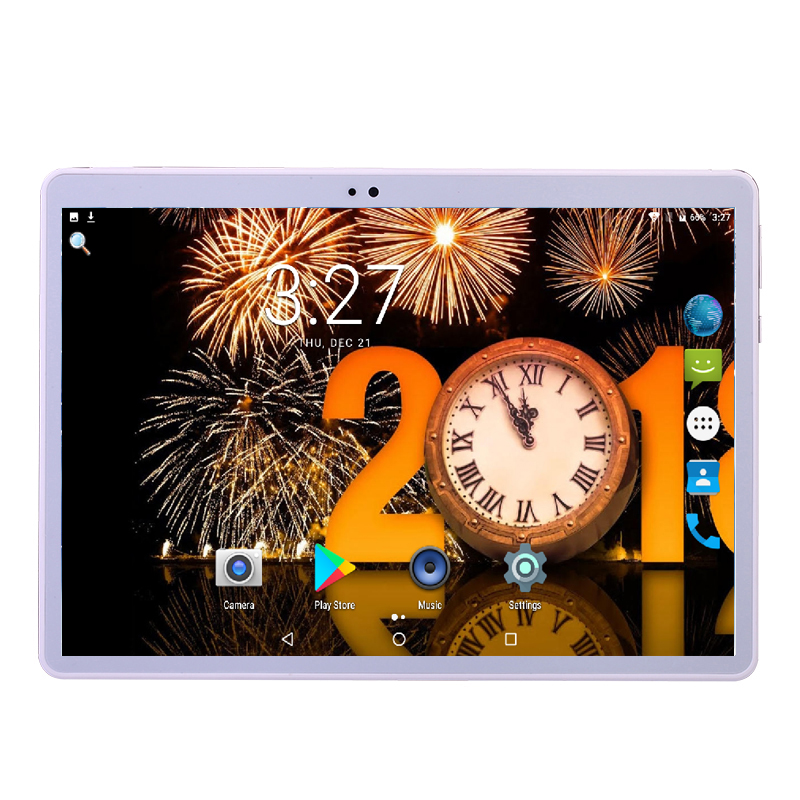 """K108 Android 7.0 Tablet PC Tab 10.1 Inch IPS Octa Core 4GB 64GB Dual SIM Card Phone Call 10.1"""" Phablet WIFI GPS Dual camera-in Tablets from Computer & Office    1"""