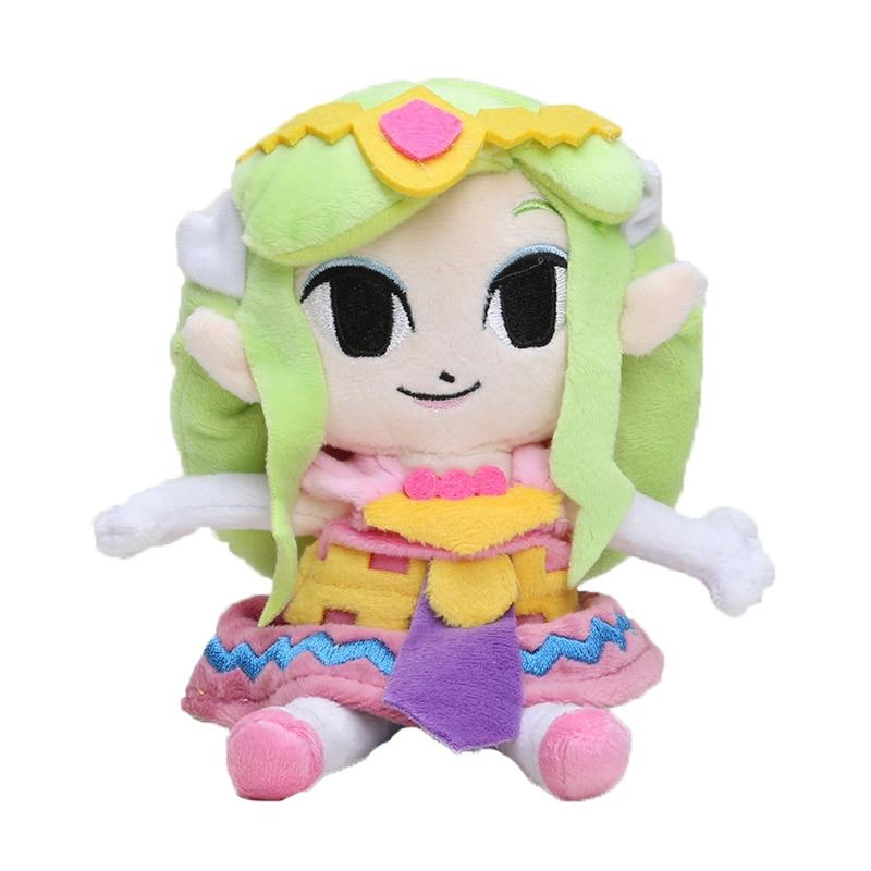 "The Legend of Zelda Plush Toys Soft Toys Children 8""20cm Wind Waker Link princess Plush Little Buddy Tingle Stuffed Toy Doll  1"