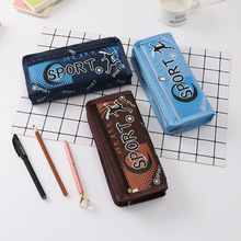 Stationery Football style Pencil Case Pencil Bag Student pen