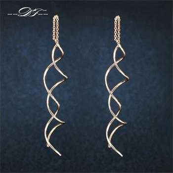 Unique Twisted Bar Long Line Chain Earrings white Rose Gold Color Fashion Drop Dangle Earring Jewelry.jpg 350x350 - Home Page