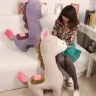 Fancytrader 100 cm Giant Leuke Zachte Animal Paard Pluche Kussen 39 ''Grote Gevulde Cartoon Paard Speelgoed Pop Baby Present - 3