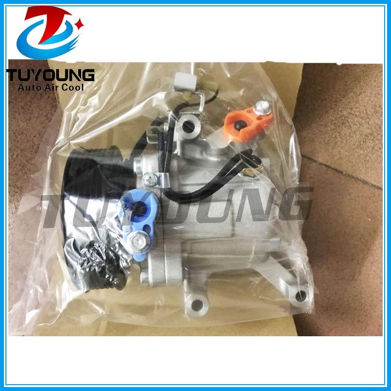 SV07C auto ac compressor for Toyota Passo 1.0 1.3 Daihatsu Terios 2007- 4471906121 4471602270 4472600667 4472605613 447280-3150SV07C auto ac compressor for Toyota Passo 1.0 1.3 Daihatsu Terios 2007- 4471906121 4471602270 4472600667 4472605613 447280-3150