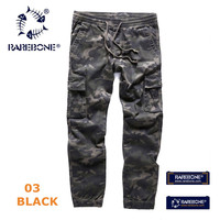 Rarebone Mens 100 Cotton Camo Cargo Pants Relaxed Fit For Men Military Army Style With Multi