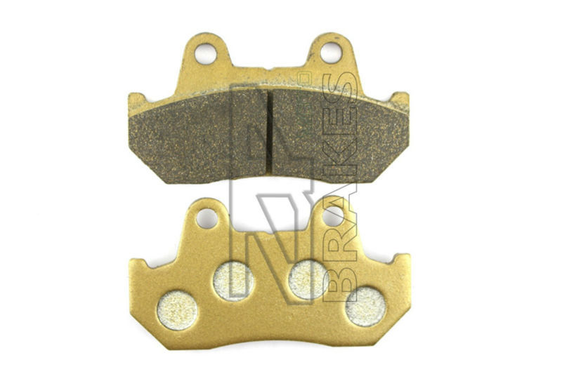 New Organic Brake Pads For Rear HONDA GL 1200 D/DX/SE-1/I State/Asp 1984-1987 VF 1100 C V65 Magna 1983-1986 Motorcycle BRAKING