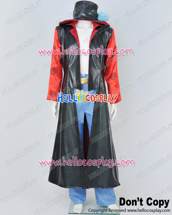 One Piece Cosplay Dracule Mihawk Hawk Eyes Costume H008