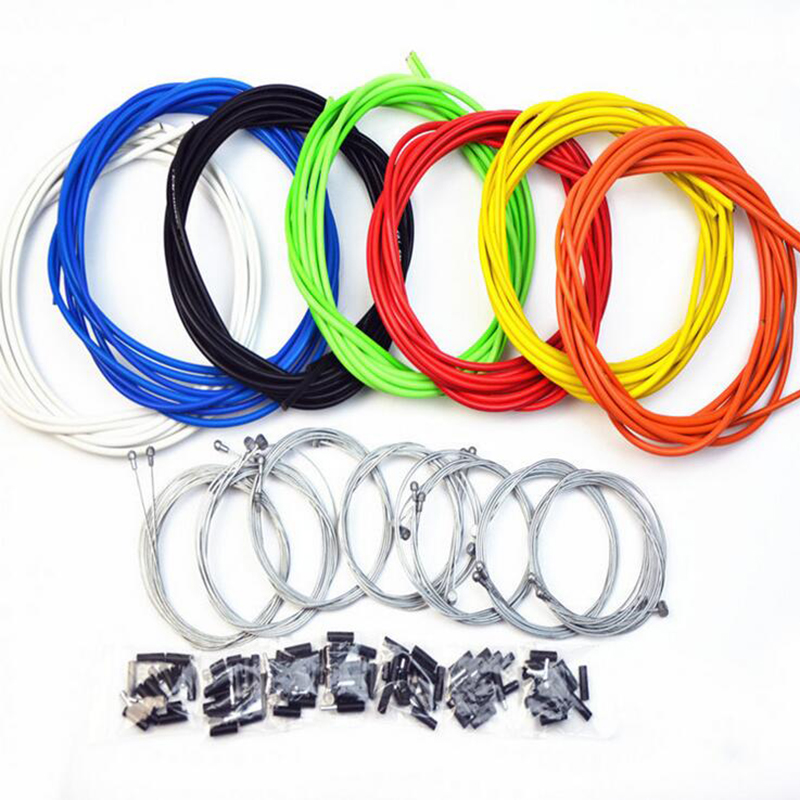 MTB mounain JAGWIRE Housing Cable Hose Kit Brake Shifter cables Fixed Road Brake Line Shift Brake Cable Sets Steel Speed line