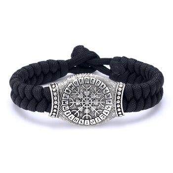 Bracelet fait main Rune Viking scandinave nordique 1