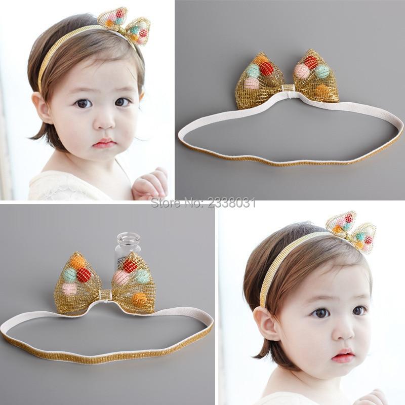 Yeni Koreya Sərin yay krujeva çiçəkli uşaq baş bandı rəngli - Geyim aksesuarları - Fotoqrafiya 4