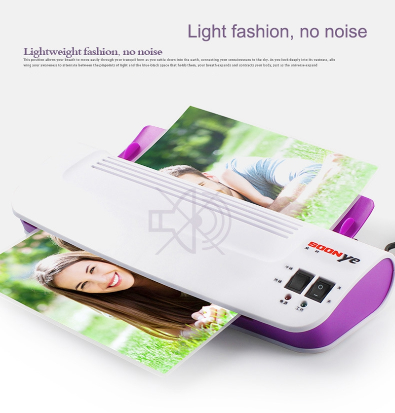 Professional Thermal Hot and Cold Laminating Machine for Documents And Photos