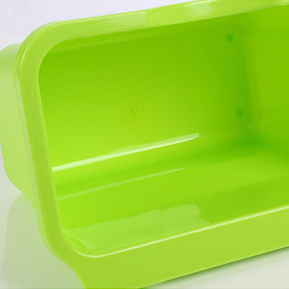 1 PC KITCHENตู้ประตูตะกร้าพลาสติกแขวนถังขยะถังขยะขยะชามกล่องสก์ท็อป.ถังขยะผู้ถือ