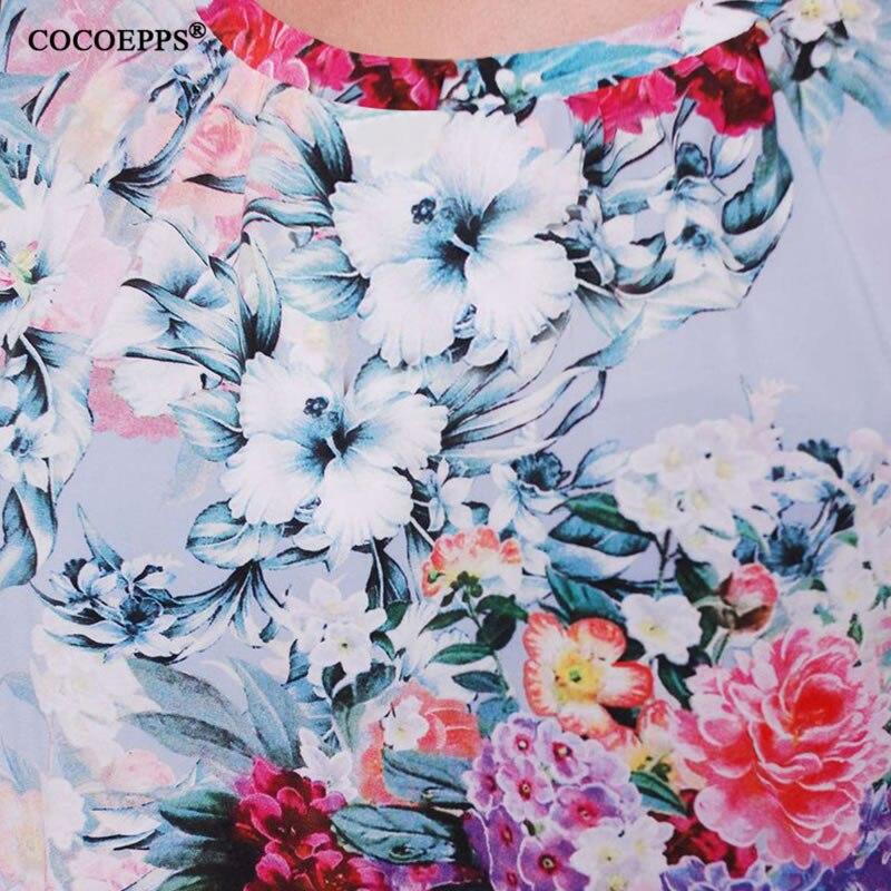 Verano Del 01 Más De Tamaño 6xl Nuevo Maxi 02 Impresión Floral 2018 Para Grande Largo Ocasional La Partido Vestido Las Mujeres 5xl xAOxWn6YS