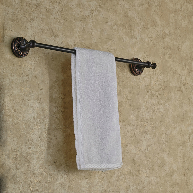 High quality bathroom Oil Rubbed Bronze towel bar bathroom hangers bathroom Towel Rack accessories allen roth brinkley handsome oil rubbed bronze metal toothbrush holder