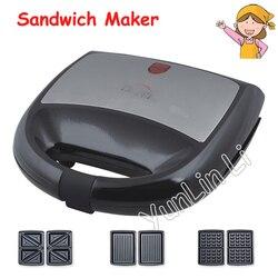 Household Waffle Maker Toaster Sandwich Bread Maker Machine Small Breakfast Machine Household Kitchen Waffle Maker KY-18