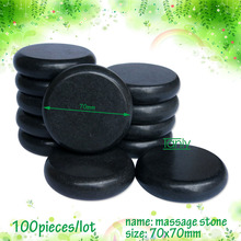 wholesale 100pieces 7x7cm beauty energy hot stone