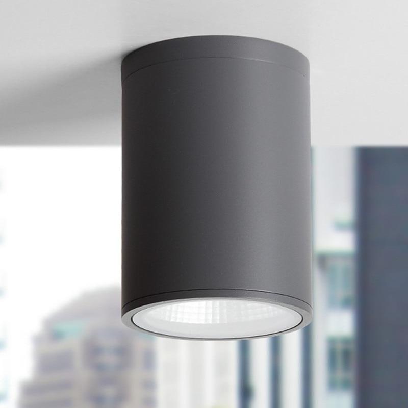 Cylinder LED Ceiling Down Light Fixture Modern Lamp COB Chipset Restaurant  Balcony Ceiling Lighting Fixtures 110 240V  In Ceiling Lights From Lights  ...
