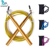 Freies pouch 3 Meter METALL LAGER und Griff!! Springseil/Speed Kabel Jump Rope Crossfit MMA Box home gym/NPFL(China)